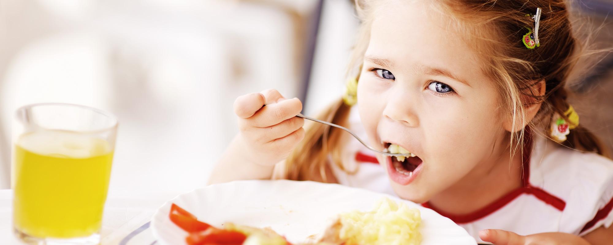 La <span>salute</span> inizia fin da piccolini