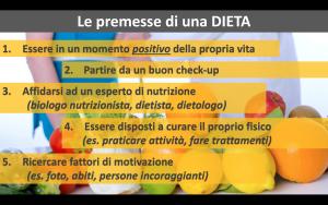 Premesse dieta