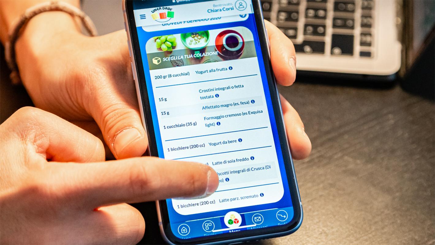 Innovativa <br> <span> App personalizzata </span>